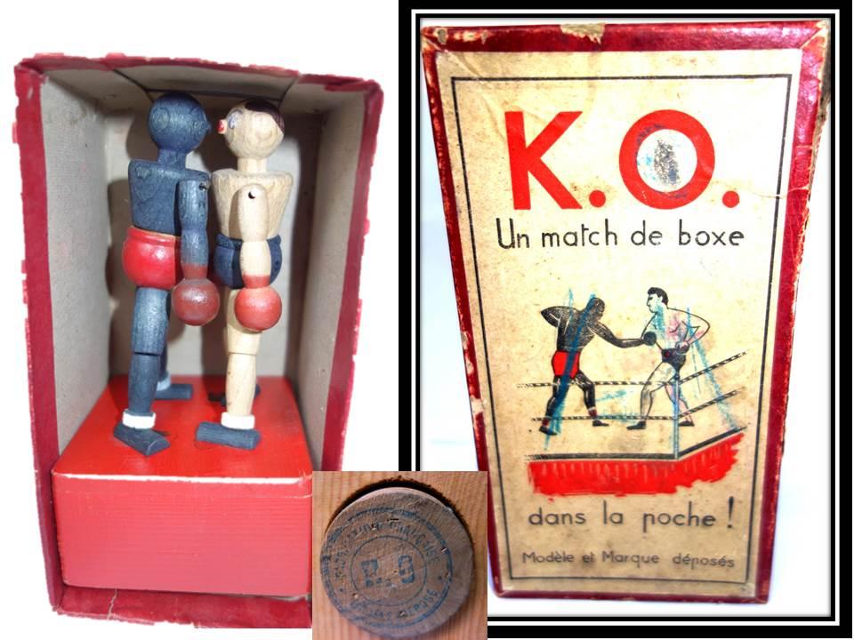 BOITE BOXEURS KO