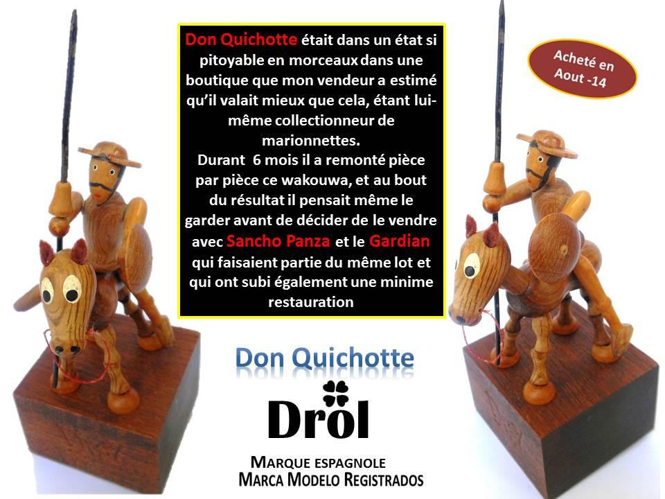 Don Quichotte Marque DROL Espagne